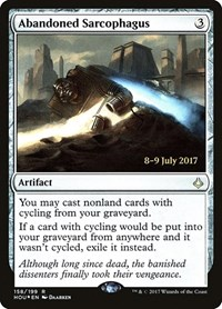 Abandoned Sarcophagus, Magic: The Gathering, Prerelease Cards