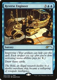 Reverse Engineer, Magic: The Gathering, FNM Promos