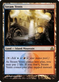 Steam Vents, Magic: The Gathering, Guildpact
