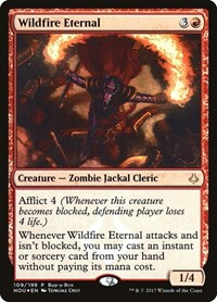 Wildfire Eternal, Magic: The Gathering, Buy-A-Box Promos