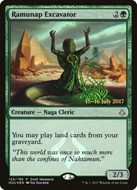 Ramunap Excavator, Magic: The Gathering, Launch Party & Release Event Promos