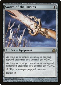 Sword of the Paruns (Foil)