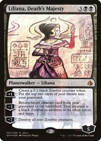 Liliana, Death's Majesty (SDCC 2017 EXCLUSIVE) (Foil)