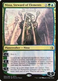 Nissa, Steward of Elements (SDCC 2017 EXCLUSIVE) (Foil)