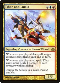Tibor and Lumia, Magic: The Gathering, Guildpact