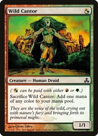 Wild Cantor, Magic: The Gathering, Guildpact