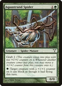 Aquastrand Spider, Magic: The Gathering, Dissension
