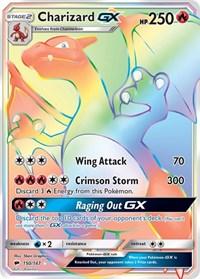 Charizard GX (Secret), Pokemon, SM - Burning Shadows
