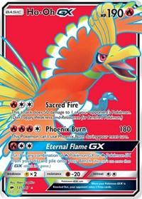 Ho-Oh GX (Full Art), Pokemon, SM - Burning Shadows