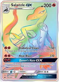 Salazzle GX (Secret), Pokemon, SM - Burning Shadows