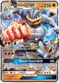 Machamp GX, Pokemon, SM - Burning Shadows