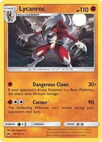Lycanroc (75), Pokemon, SM - Burning Shadows