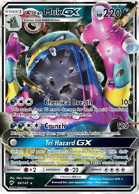 Alolan Muk GX, Pokemon, SM - Burning Shadows