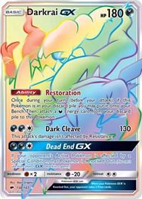 Darkrai GX (Secret), Pokemon, SM - Burning Shadows