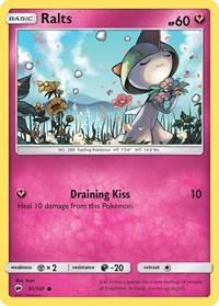 Ralts, Pokemon, SM - Burning Shadows