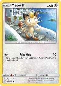 Meowth, Pokemon, SM - Burning Shadows