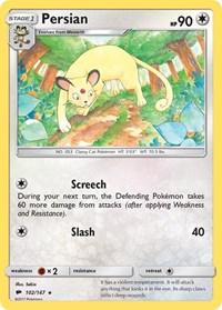 Persian, Pokemon, SM - Burning Shadows