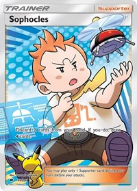 Sophocles (Full Art), Pokemon, SM - Burning Shadows