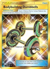 Bodybuilding Dumbbells (Secret), Pokemon, SM - Burning Shadows