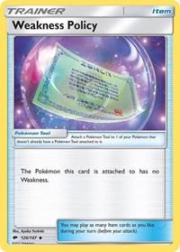 Weakness Policy, Pokemon, SM - Burning Shadows