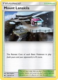 Mount Lanakila, Pokemon, SM - Burning Shadows