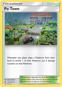 Po Town, Pokemon, SM - Burning Shadows