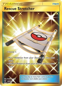 Rescue Stretcher (Secret), Pokemon, SM - Burning Shadows