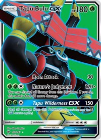 Tapu Bulu GX (Full Art), Pokemon, SM - Burning Shadows