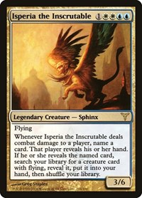 Isperia the Inscrutable (Foil)