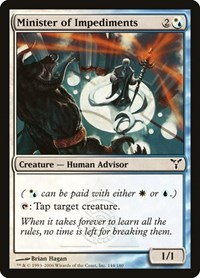 Minister of Impediments, Magic: The Gathering, Dissension