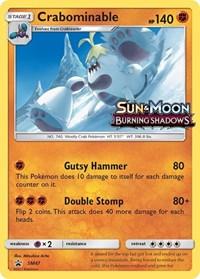 Crabominable - SM47 (Prerelease Promo), Pokemon, SM Promos