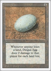 Dingus Egg, Magic: The Gathering, Revised Edition