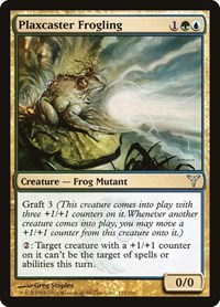 Plaxcaster Frogling, Magic: The Gathering, Dissension