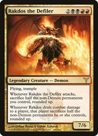 Rakdos the Defiler, Magic: The Gathering, Dissension