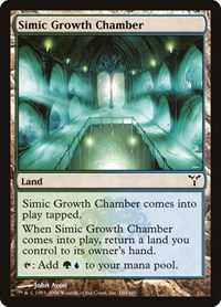 Simic Growth Chamber, Magic: The Gathering, Dissension