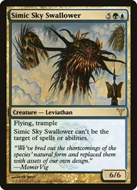 Simic Sky Swallower, Magic: The Gathering, Dissension