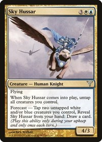 Sky Hussar, Magic, Dissension