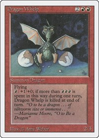 Dragon Whelp, Magic: The Gathering, Revised Edition