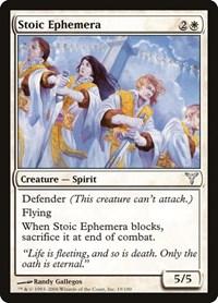 Stoic Ephemera, Magic: The Gathering, Dissension