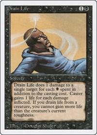 Drain Life, Magic: The Gathering, Revised Edition