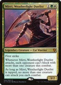 Mirri, Weatherlight Duelist, Magic: The Gathering, Commander 2017