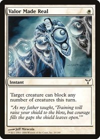 Valor Made Real, Magic: The Gathering, Dissension