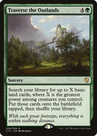 Traverse the Outlands, Magic: The Gathering, Commander 2017