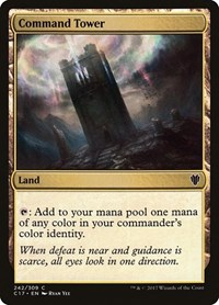 Command Tower, Magic: The Gathering, Commander 2017