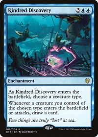 Kindred Discovery, Magic: The Gathering, Commander 2017