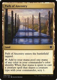 Path of Ancestry, Magic, Commander 2017