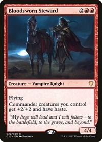 Bloodsworn Steward, Magic: The Gathering, Commander 2017