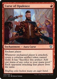 Curse of Opulence, Magic: The Gathering, Commander 2017