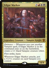 Edgar Markov, Magic, Commander 2017