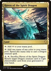 Haven of the Spirit Dragon, Magic, Commander 2017